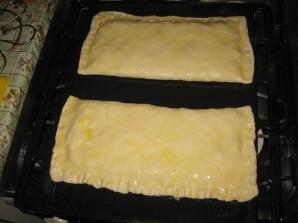 Пирог с брюшками лосося - фото шаг 6