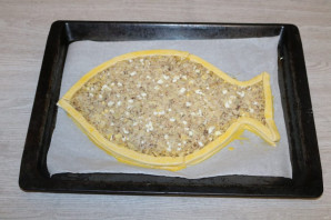 "Пирог ""Золотая рыбка"" - фото шаг 11"