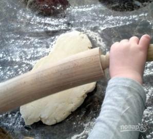 Булочки-рулеты с сырной начинкой - фото шаг 1