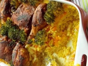 Рис с овощами и куриными ножками - фото шаг 6
