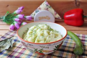 Картофельное пюре с майонезом - фото шаг 9