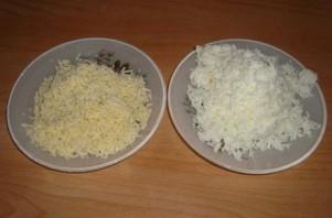 Лаваш с крабовыми палочками и сыром - фото шаг 4