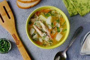 Детский суп в мультиварке - фото шаг 11