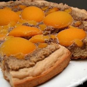 Пирог с грецкими орехами и абрикосами - фото шаг 7