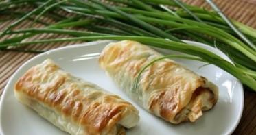 Лаваш с сыром в духовке - фото шаг 4