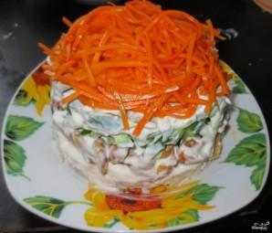 Корейская морковь с курицей - фото шаг 4