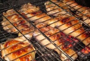 Шашлык из куриной голени - фото шаг 4