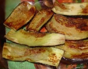 Соте из баклажанов с мясом - фото шаг 1