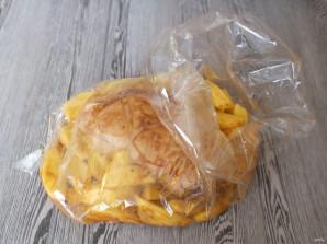 Рулька с картошкой в духовке - фото шаг 7
