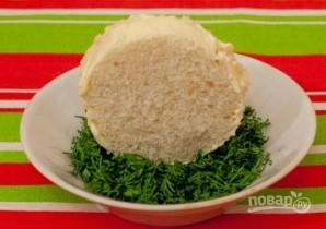 Бутерброды с семгой и красной икрой - фото шаг 3