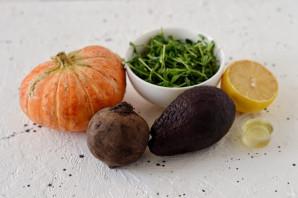 Салат из свеклы, тыквы и авокадо - фото шаг 1
