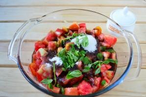 Варенье из помидоров с базиликом - фото шаг 4