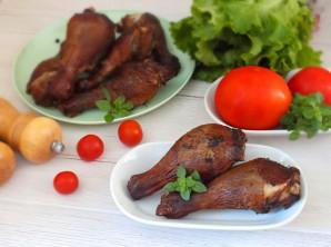 Куриные голени горячего копчения - фото шаг 7