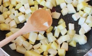 Картофель с белыми грибами - фото шаг 1
