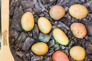 Картошка печеная в золе - фото шаг 2
