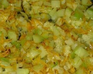 Рагу из кабачков с рисом - фото шаг 3