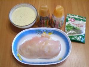 Курица в кляре в духовке - фото шаг 1