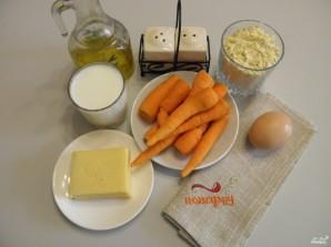 Морковные котлеты с сыром - фото шаг 1
