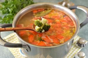 Суп с нутом и брокколи - фото шаг 8