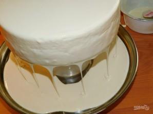 Зеркальная глазурь для торта - фото шаг 7