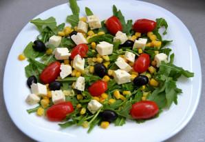 Итальянский салат с вялеными помидорами - фото шаг 5