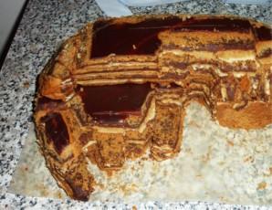 "Торт ""Медведь"" - фото шаг 7"