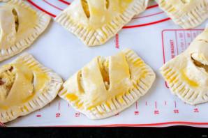 Пирожки с творогом в духовке - фото шаг 6