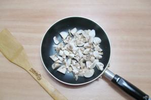 Салат из шампиньонов жареных - фото шаг 2