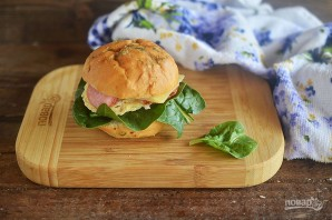 Сэндвичи в микроволновке на завтрак - фото шаг 11