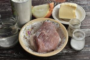 Чебуреки с мясом и сыром - фото шаг 1