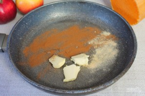Пряный пудинг из тыквы и яблок - фото шаг 2