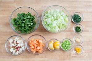 Рецепт салата с креветками - фото шаг 1