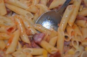 Запеканка из макарон в духовке - фото шаг 2