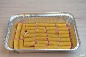 Макароны, фаршированные фаршем и сыром, в духовке - фото шаг 2