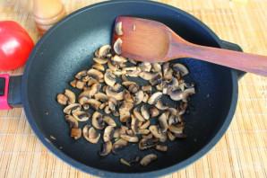 Торт из кабачков с грибами - фото шаг 5