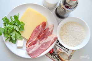 Японские рисовые шарики с сыром - фото шаг 1