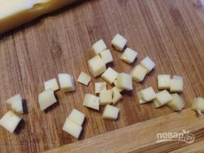 Тарталетки с начинкой из курицы с ананасом - фото шаг 3
