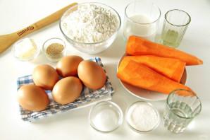 Пирог с морковью и яйцом - фото шаг 1