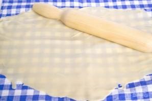 Тесто для австрийского штруделя - фото шаг 3