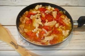 Свинина с овощами по-болгарски - фото шаг 6
