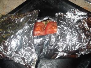 Кабачки с рыбой в духовке - фото шаг 11