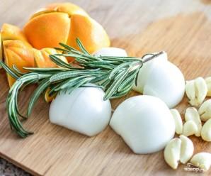 Индейка с апельсинами в духовке - фото шаг 1