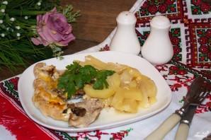 Мясо по-французски в духовке с картошкой - фото шаг 6