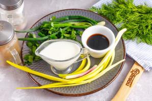 Сливочный диетический соус