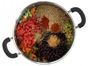 Сытный и питательный овощной суп - фото шаг 2