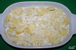 Картошка в духовке со сливками и сыром - фото шаг 3