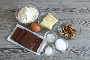 Печенье с молочным шоколадом - фото шаг 1