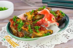 Горбуша в томатном соусе - фото шаг 5