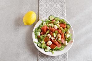 Салат из арбуза - фото шаг 4