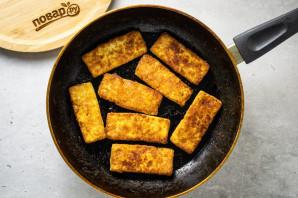 Салат с рукколой и тофу - фото шаг 5